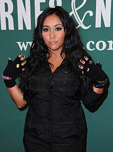 """Nicole """"Snooki"""" Polizzi Book Signing For """"A Shore Thing"""""""