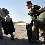 Soldiers Charged for Baggage