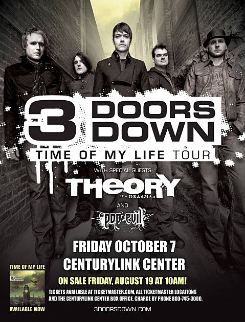 3 Doors Down, Bossier City, LA