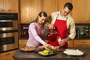 Couple Cooking - Texarkana