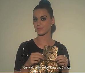 Katy's Golden Ticket