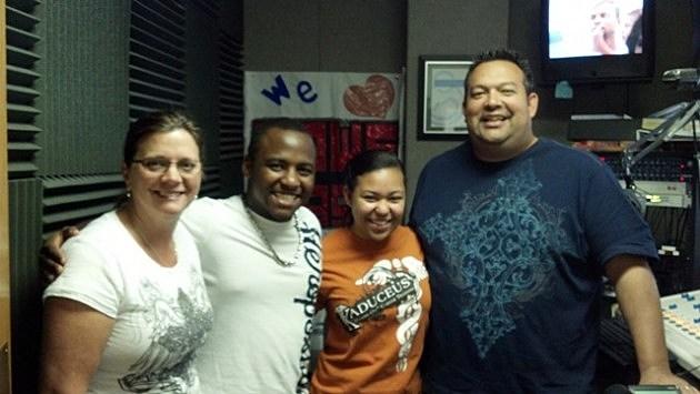 Fans visit Power 95-9 Studios