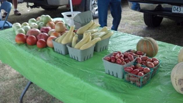 Old Time Farmers Market veggies