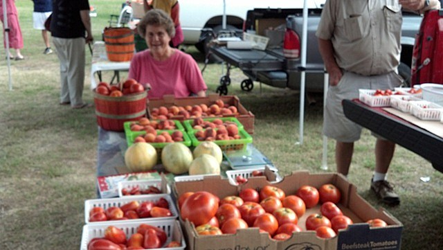 Old Time Farmers Market veggies galore