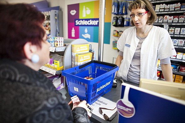 Personal information at pharmacy counter