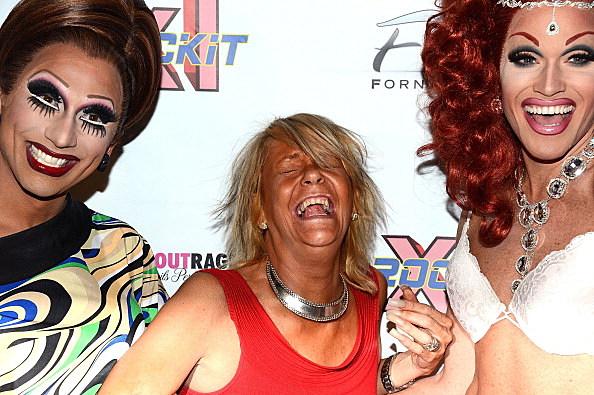 "Patricia ""Tan Mom"" Krentcil Visits XL Cabaret"
