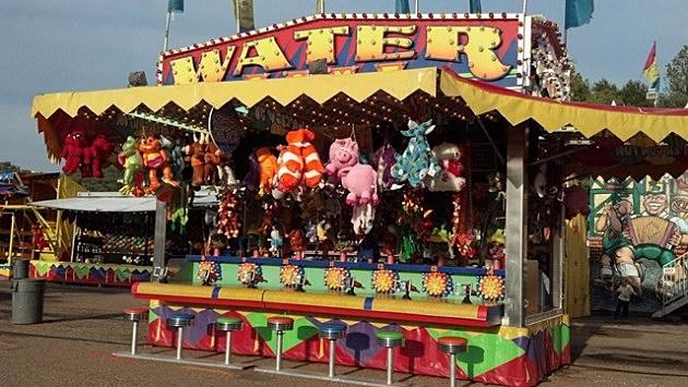 2012 Four States Fair - Fair games water