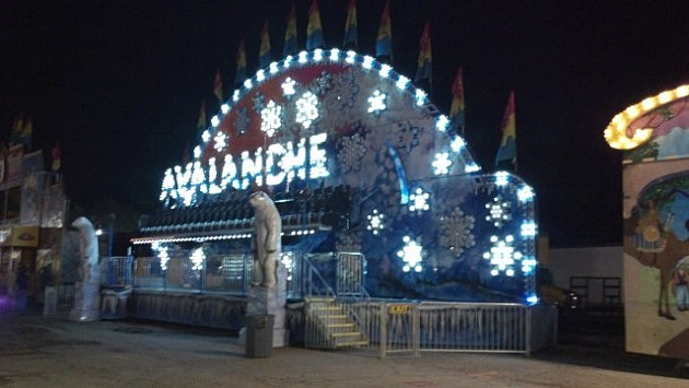 2012 Four States Fair - Avalanche at night