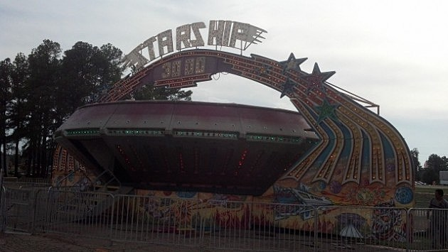 2012 Four States Fair - Starship 3000