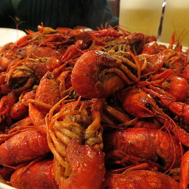 Crawfish in Texarkana