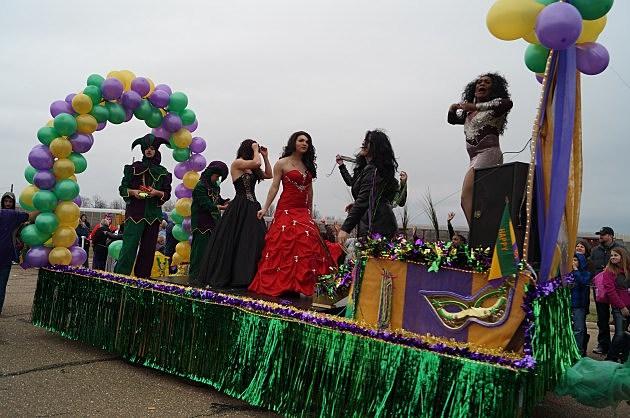 Texarkana Mardi Gras Parade Mimi McDaniel/Townsquare Media