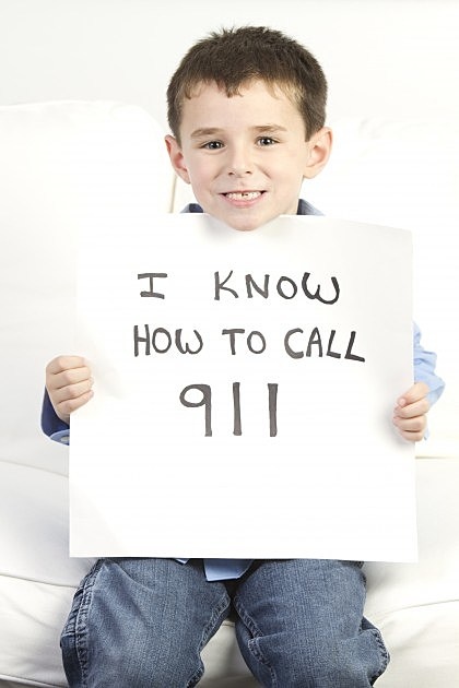 Child knows how to call 911