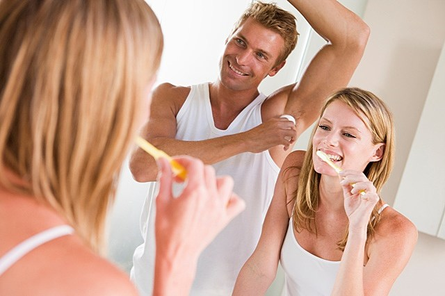 Guys using women's products