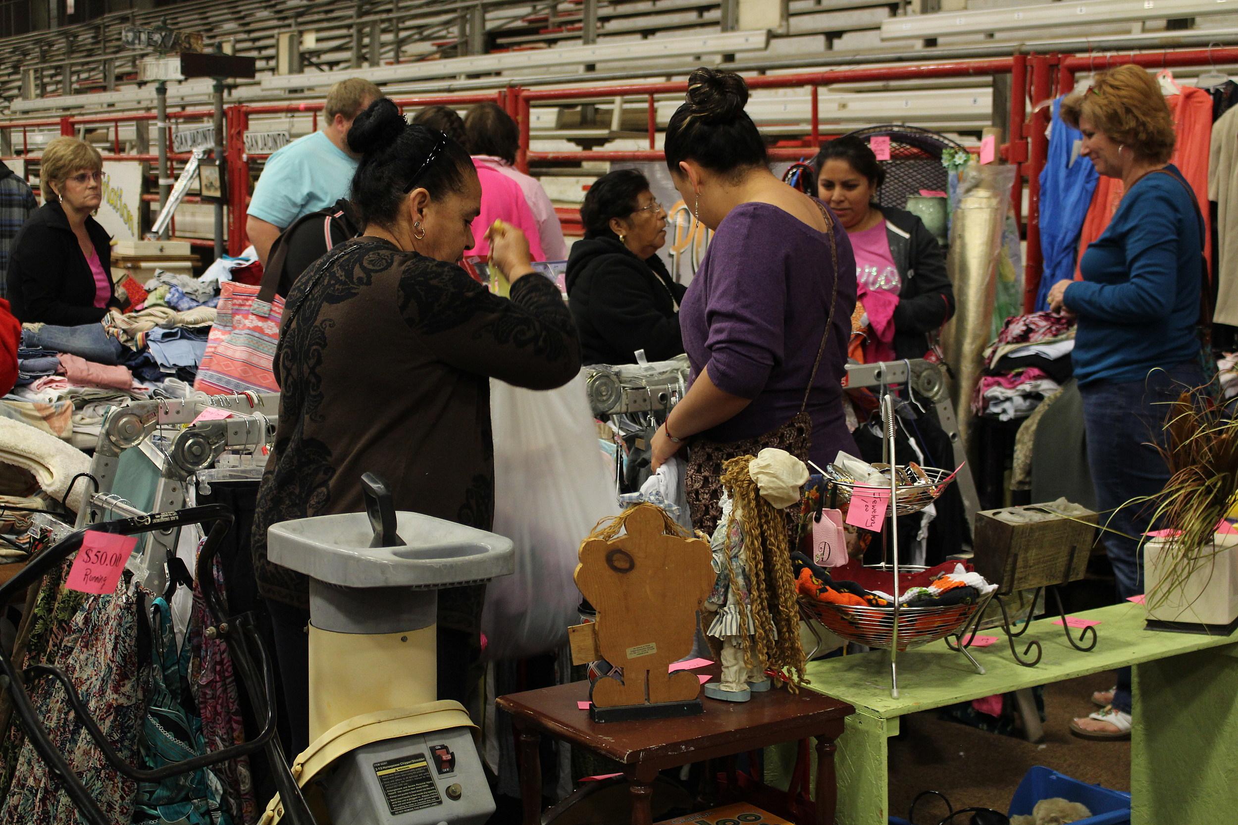 Texarkana's largest indoor garage sale