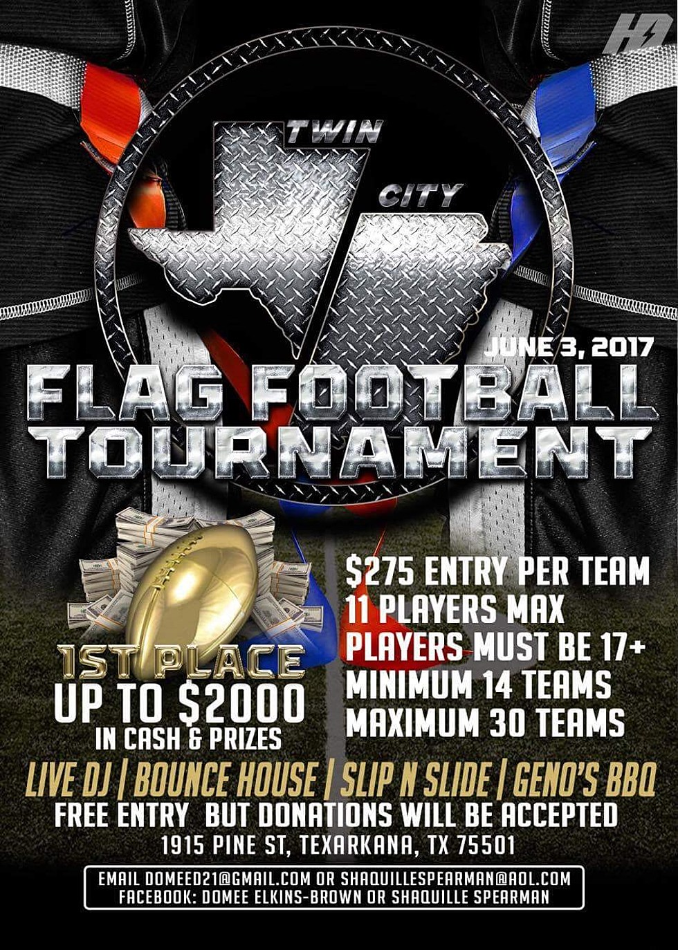 Twin City 7 On 7 Flag Football Tournament