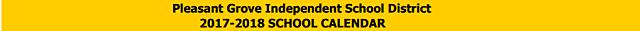 school calendar pg