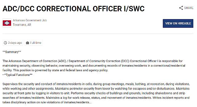 Correctional Ofcr