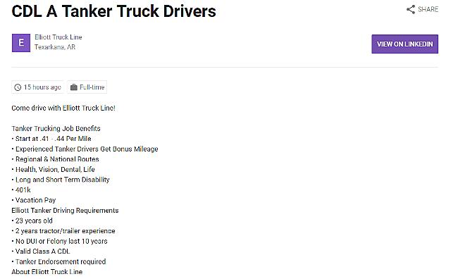 Elliot Truck