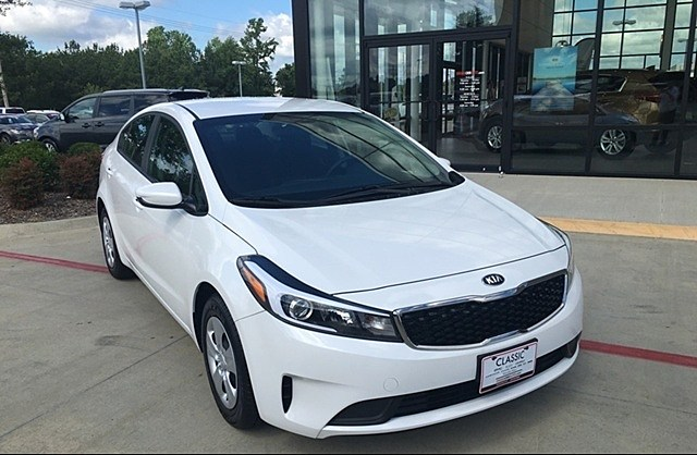 Win a Kia Forte similar to this one from Classic Auto Park