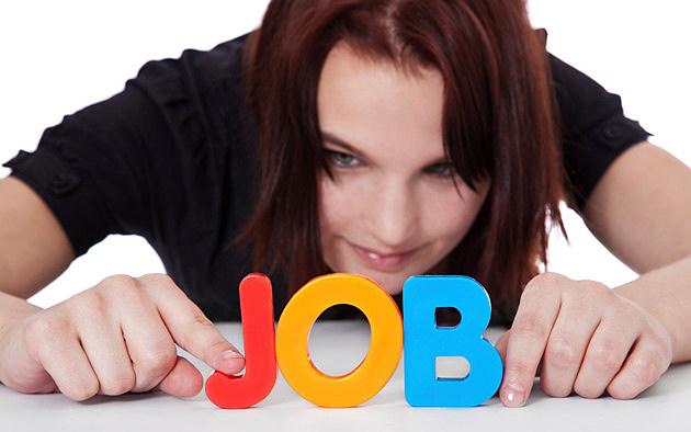 Teenage girl builds the term job